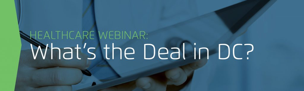 Webinar: What's the Deal in DC?